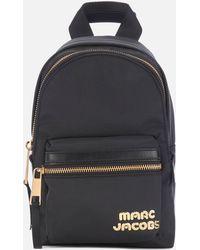 Marc Jacobs Trek Pack Mini Backpack - Black