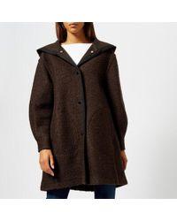 See By Chloé - Women's Long Coat - Lyst