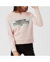 Barbour - Women's Triple Sweatshirt - Lyst