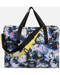 Eastpak X Msgm Flowers Tote Bag - Blue
