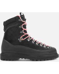 Diemme Everest Haircalf Hiking Style Boots - Black