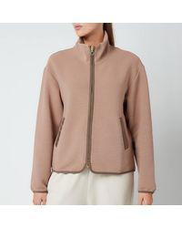 Varley Berendo Fleece Jacket - Natural