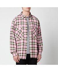 Edwin Big Shirt - Pink