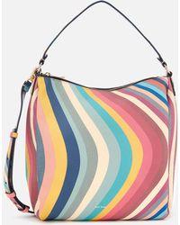 Paul Smith Swirl Mini Hobo Bag - Multicolour