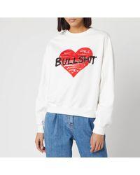 Philosophy Di Lorenzo Serafini Bullshit Sweatshirt - White