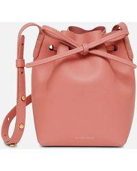 Mansur Gavriel Mini Mini Bucket Bag - Pink