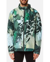 HUNTER - Men's Original 3 Layer Printed Blouson Jacket - Lyst