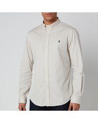 Polo Ralph Lauren Long Sleeve Sport Shirt - Gray
