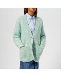 Gestuz - Women's Behar Loose Knitted Cardigan - Lyst