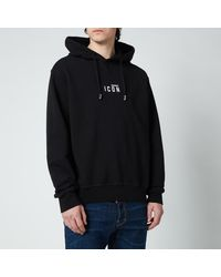 DSquared² Cool Fit Small Logo Hoodie - Black