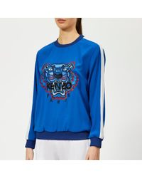KENZO - Women's Soft Sweater Tiger Embroidery - Lyst