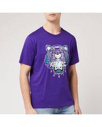 KENZO Classic Tiger T-shirt - Purple