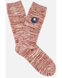 Folk - Clothing Men's Melange Socks - Lyst