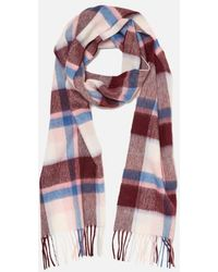 Barbour - Women's Country Plaid Scarf - Lyst