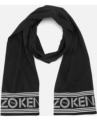 KENZO Sport Jersey Scarf - Black