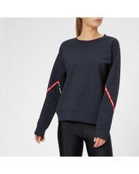The Upside - Women's Bardot Crew Neck Sweatshirt - Lyst