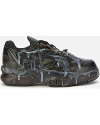 Maison Margiela Black Fusion Low Sneakers