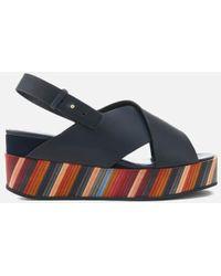 Paul Smith - Women's Noe Swirl Flatform Sandals - Lyst