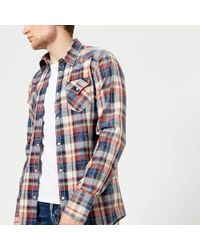 DSquared² - Men's Checked Western Shirt - Lyst