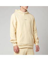 Holzweiler Fleek Pullover Hoodie - Yellow