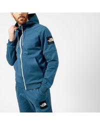 The North Face - Men's Fine 2 Full Zip Hoodie - Lyst