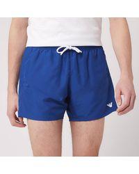 Emporio Armani Classic Swim Shorts - Blue