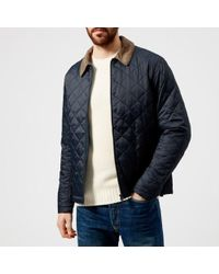 Barbour - Men's Helm Quilted Jacket - Lyst