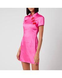 De La Vali Suki Dress - Pink