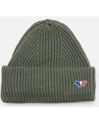 Maison Kitsuné - Men's Ribbed Hat - Lyst