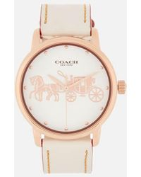 COACH - Women's Grand Large Face Watch - Lyst