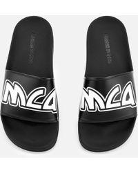McQ Chrissie Slide Sandals - Black