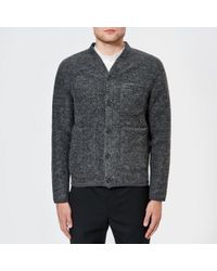 Universal Works - Men's Wool Fleece Cardigan - Lyst