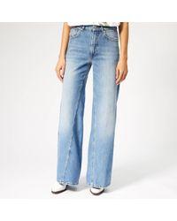 Ganni Camfield Jeans - Blue