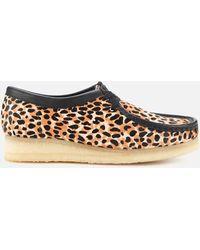 Clarks Clarks Original Wallabee Suede Shoes - Brown