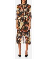 Gestuz - Women's Fergie Long Dress - Lyst