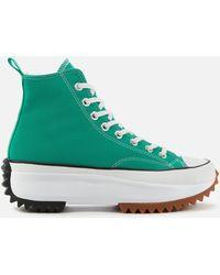 Converse Run Star Hike Sneakers - Green