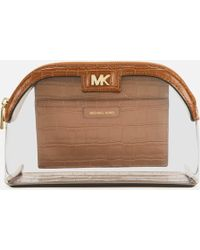 MICHAEL Michael Kors Large Travel Pouch - Brown