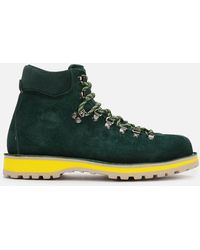 Diemme Roccia Vet Suede Hiking Style Boots - Green