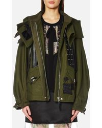 COACH - Western Military Jacket - Lyst