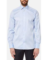 Eton of Sweden - Men's Contemporary Fit Cut Away Collar Single Cuff Shirt - Lyst
