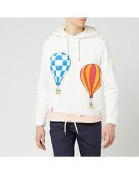Lanvin Babar Balloons Print Hoodie - White