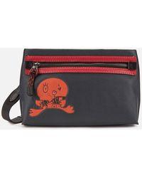 COACH Academy Pouch Bag - Multicolour