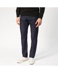 Edwin - Men's Ed55 Regular Tapered Kingston Blue Denim Jeans - Lyst