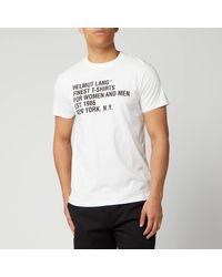 Helmut Lang Standard T-shirt - White