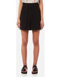 5e88104294 Lyst - Isabel Marant Cotton Lucky Short in Natural