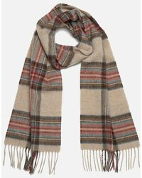 Barbour - Women's Country Check Scarf - Lyst