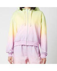 Olivia Rubin Flo Hooded Top - Multicolour