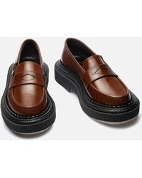 Adieu Type 162 Leather Loafers - Brown