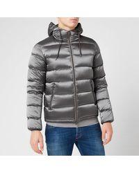 Herno Resort Gloss Padded Jacket - Grey