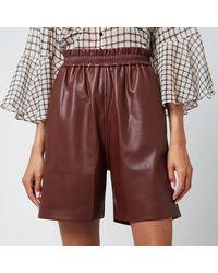 Munthe Pantas Shorts - Red